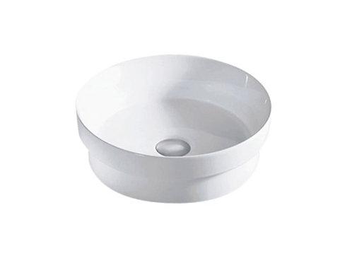 Rondo Matt Ceramic Semi Inset Vanity Basin