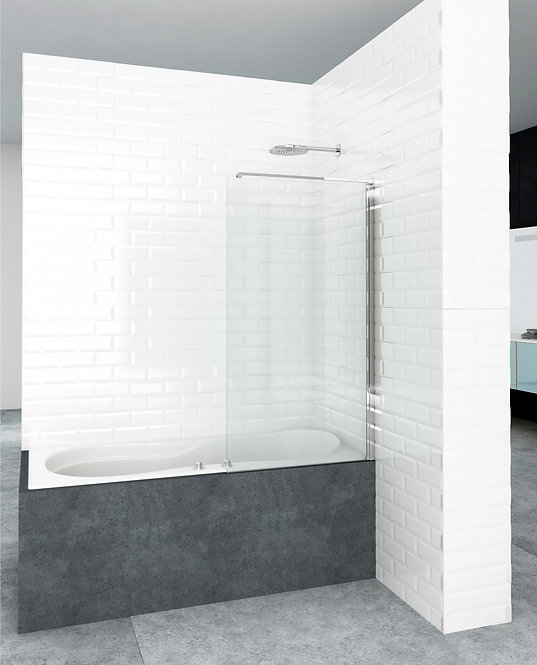 Framless Fixed Bath Screen