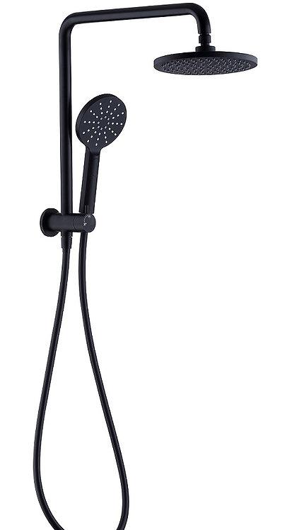Rondo Black Twin Shower Combo