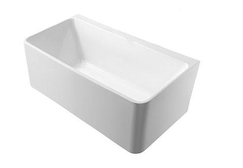 Blok Back to Wall Freestanding Bath