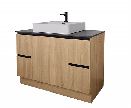 Nutro Lux 1200mm Light Oak Vanity