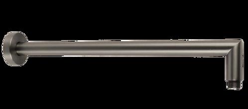 Rondo Straight Gunmetal Fixed Shower Arm