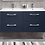 Thumbnail: Scuro Navy 1200mm Double Bowl Wall Hung Vanity