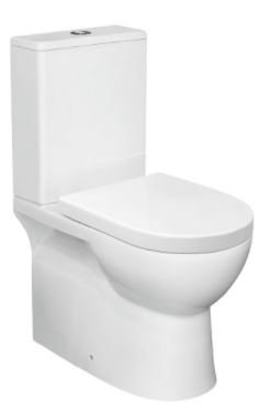 Bianco Extra Height Ambulant Ceramic Wall Faced Toilet Suite
