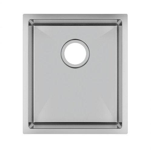 Zero 390x450mm Single Bowl Sink Stainless Steel