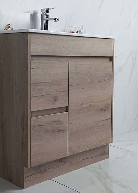 Max 900mm Slimline Urban Oak Vanity