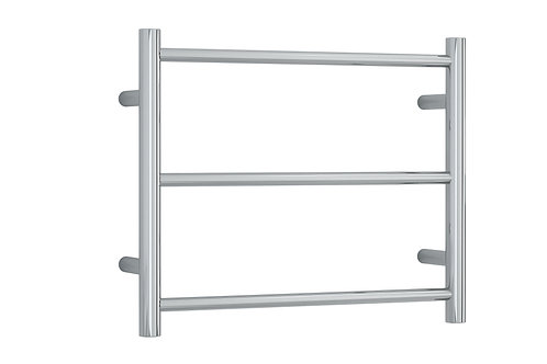 Thermorail Straight Round 3 Bar Project Heated Towel Rail