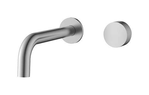 Rondo Chrome Progressive Wall Basin/Bath Set