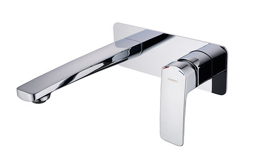 Bravo Chrome Wall Mixer & Spout