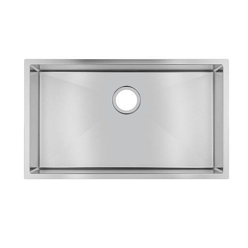 Zero 762x457mm Single Bowl Sink Stainless Steel
