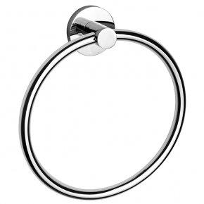Rondo Chrome Towel Ring