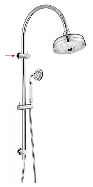 Heritage Chrome Multifunction Twin Shower
