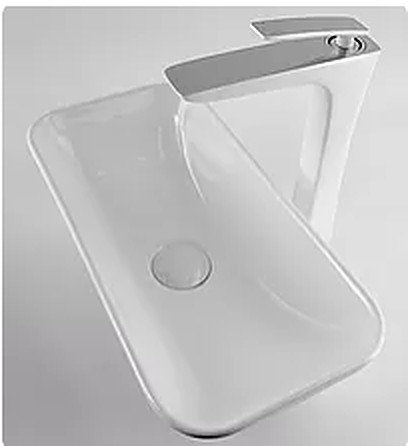 Exon Compact Ceramic Above Counter Vanity Basin
