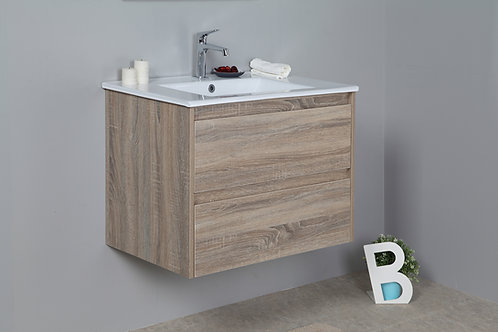 Leo 600mm Wall Hung Vanity