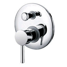 Rondo Chrome Bath/Shower Divertor Mixer