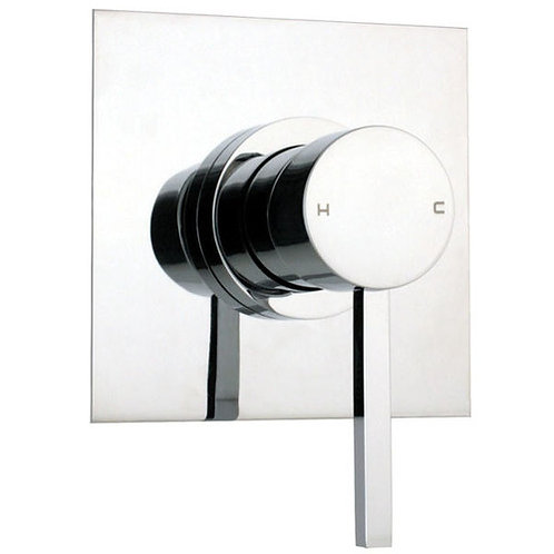 Mirada Chrome Square Bath/Shower Mixer