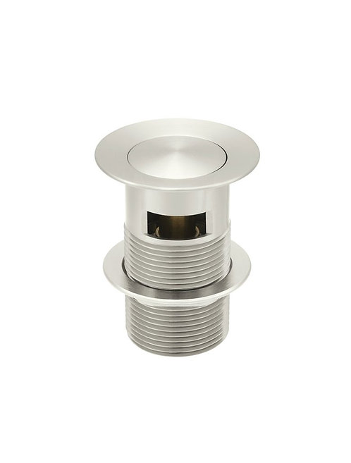 32mm Brushed Nickel pop up waste with overflow