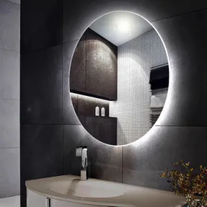 Luna LED Round Mirror