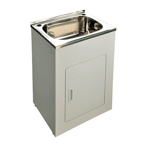 45ltr Stainless Steel Laundry Tub & Cabinet