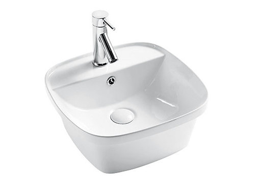 Exon Square Inset Basin 1TH