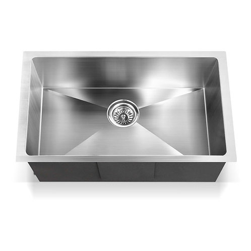 Zero 700x450mm Single Bowl Sink Stainless Steel