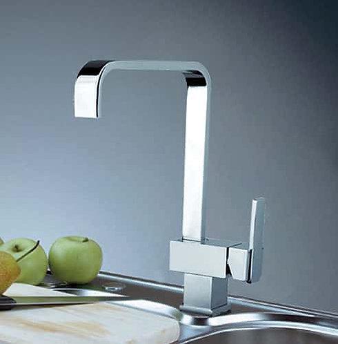 BIANCO Square sink mixer Chrome