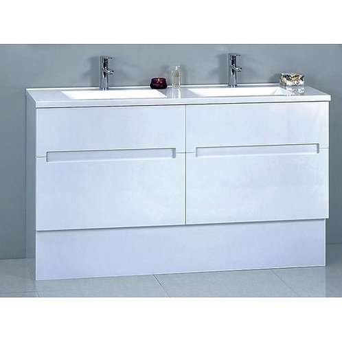 Bella 1500mm Double Bowl Vanity