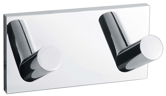 Leena Chrome Double Robe Hook