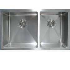 Impact Stainless Steel Undermount 1 3/4 Bowl Square Edge Sink
