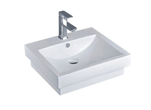 Alfa Rectangular Inset Basin 1TH