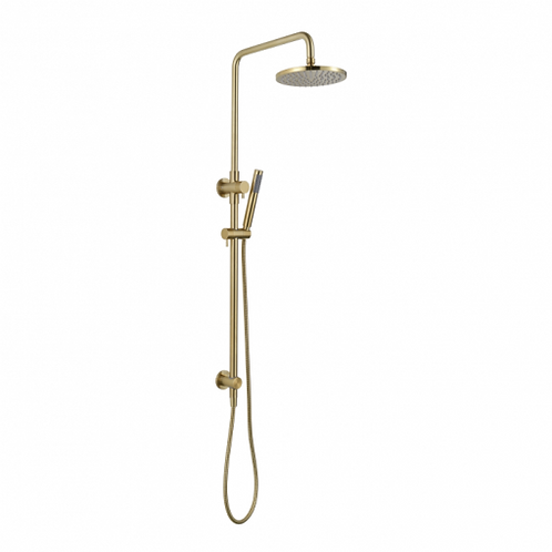 Star Multifunction Twin Shower Brushed Bronze