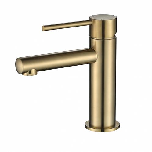 Star Mini Basin Mixer Brushed Bronze