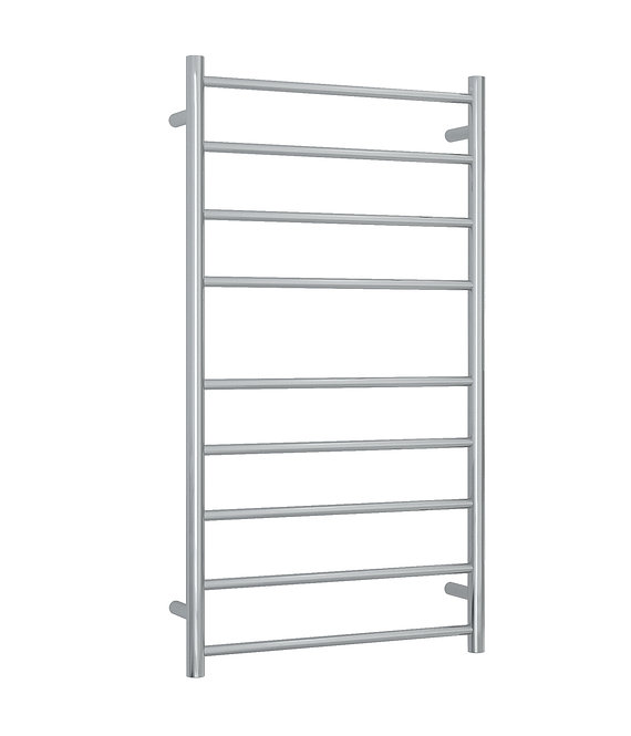 Thermorail Straight Round 9 Bar Project Heated Towel Rail