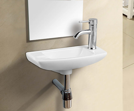 Hug Ceramic Wall Hung Basin