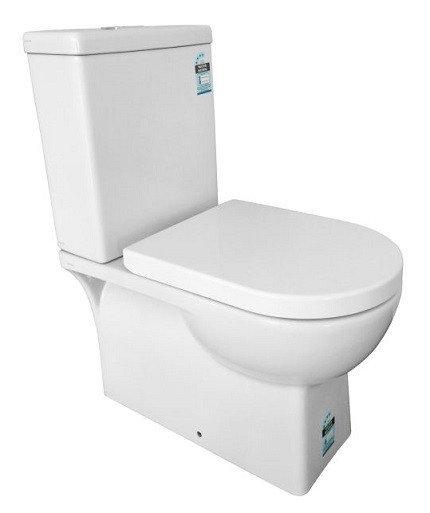 Qubi Ceramic Wall Faced Toilet Suite