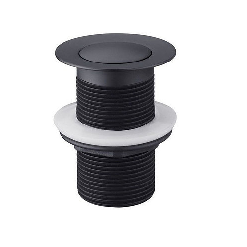 32mm Black pop up waste no overflow