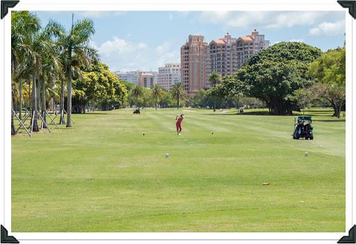 Golfing at Granada Golf Course