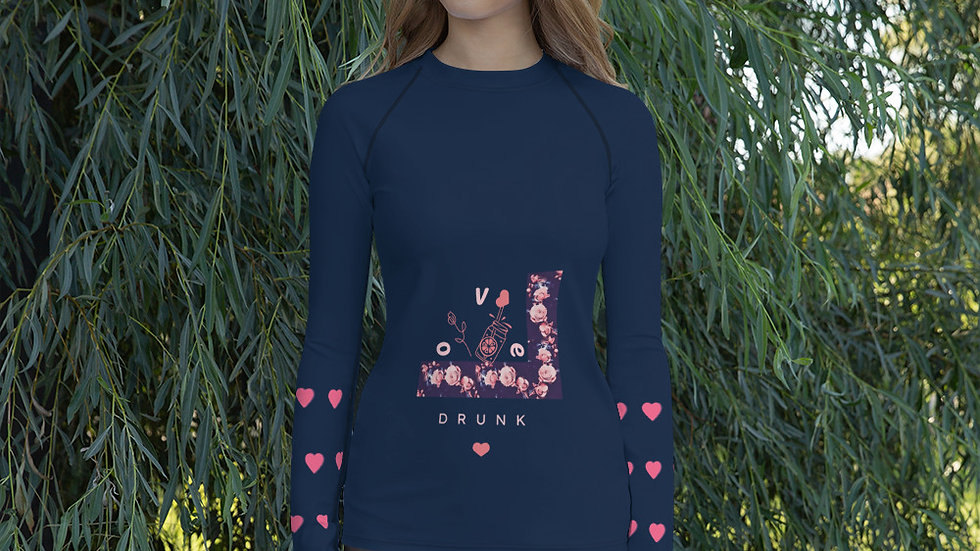 """""""Love Drunk"""" Fitted Top"""