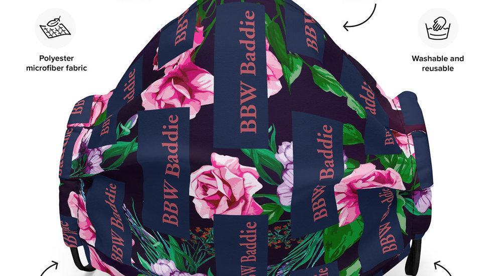 BBWBA Rose Garden Face mask