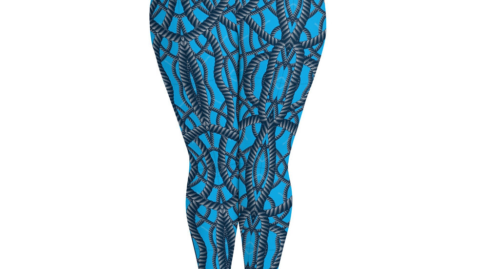 Over the Ropes Plus Size Leggings