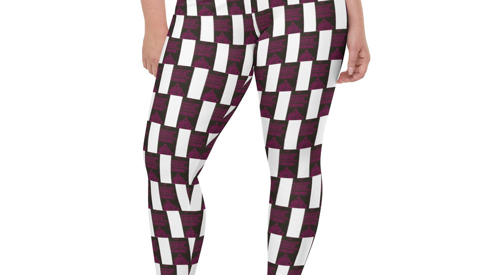 """Hop Scotch"" Plus Size Leggings"