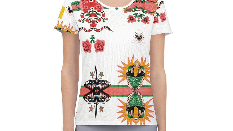 """Doctor Bird"" Athletic T-shirt"
