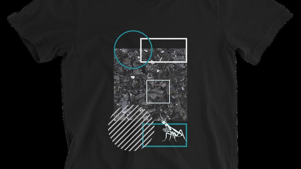 "Unisex ""Hard Rock"" V-Neck T-Shirt"