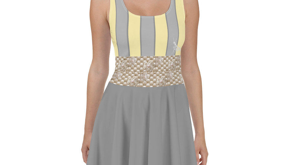 Pearls and Stripes Summer Dress