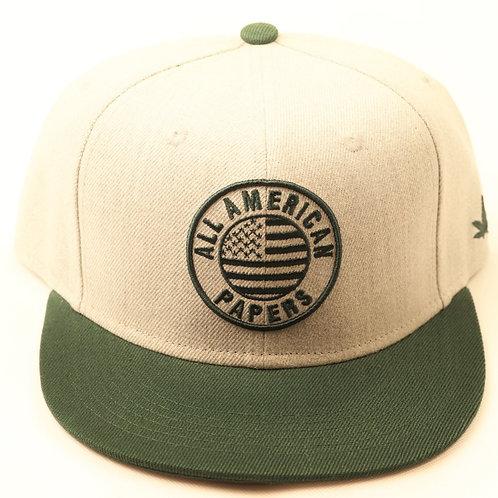 ALL AMERICAN FLAT HAT