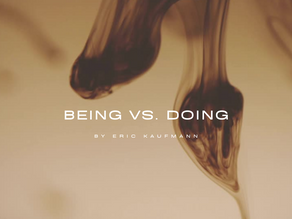 Being vs. Doing