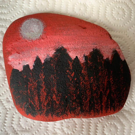 Painting Rocks to Spread Joy!