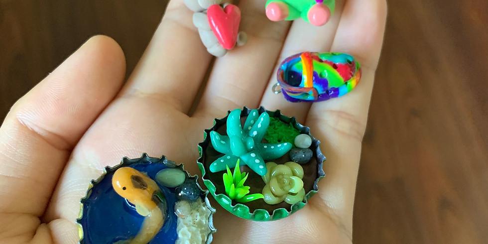 Miniature Clay Sculptures