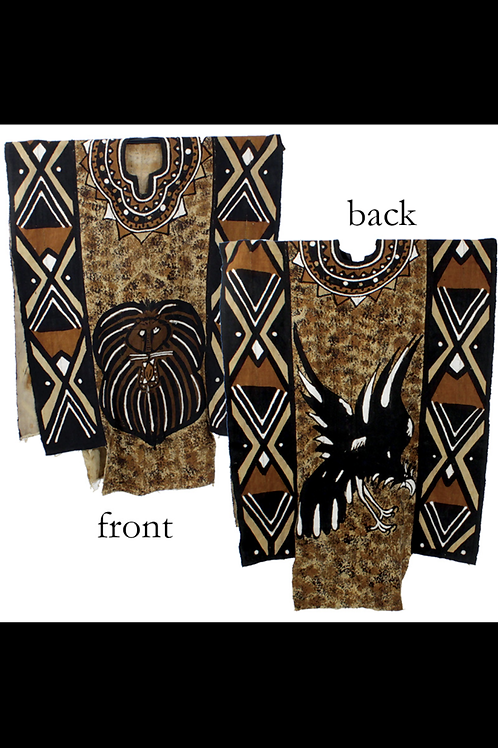 South African Collection ~ Grand Bubu Mud Cloth Robe