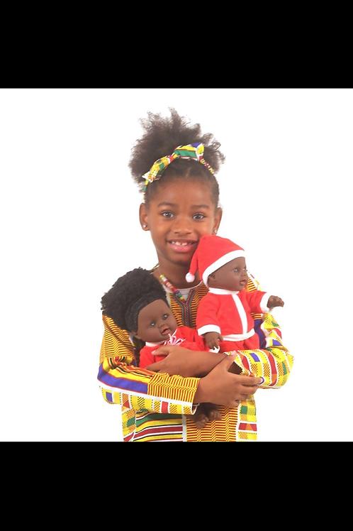 ImPowered Pick ~ Santa Suit Baby Doll Set - Boy & Girl